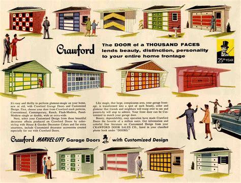 vintage garage pics and plans paint your garage door 50s retro renovation style retro