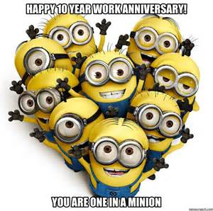 happy 10 year work anniversary