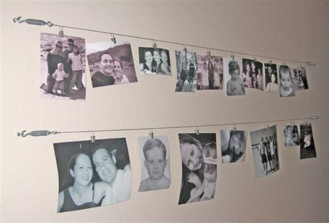 wire photo display artful anthology creative idea for wall picture display