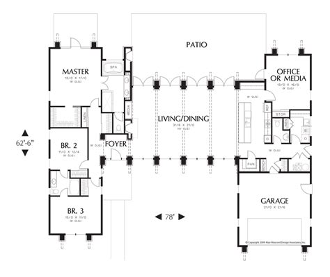 mascord plans mascord house plan 1240 house plans jack o connell and