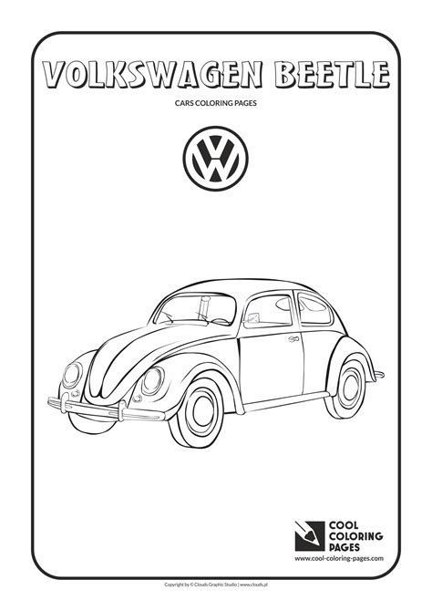 volkswagen car coloring page click the japanese beetle coloring coloring page beetle