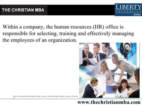 Mba In Hrd by Christian Mba In Human Resources