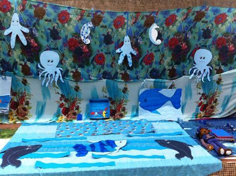 celebrating colour blue   preschool  ocean theme