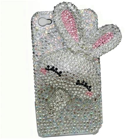 Op5013 Bling For Iphone 4 4s 4g Kode Bi 8 buy wholesale rabbit bling for iphone 4g