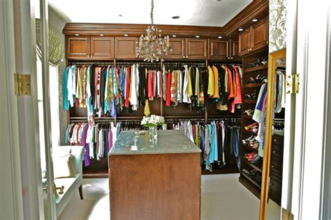 His And Closet by Stain Grade Master Walk In Closets His And Hers