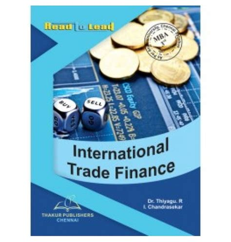 Mba 3rd Sem Books by International Trade Finance