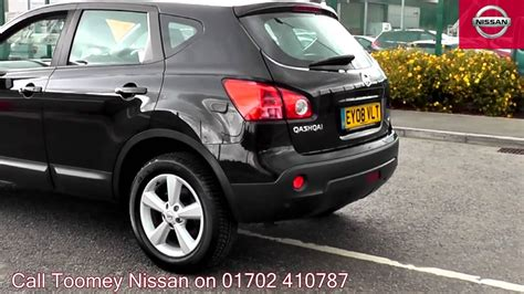 nissan dualis black 2008 nissan qashqai tekna 1 5l black ey08vlt for sale at