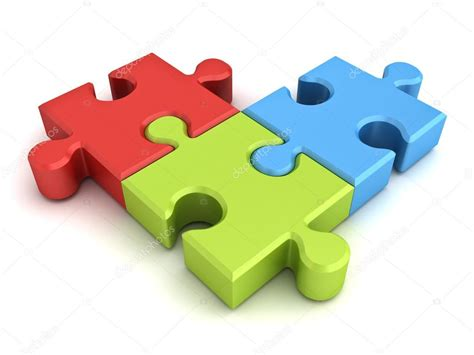 colorful puzzle pieces colorful jigsaw puzzle pieces concept isolated on white