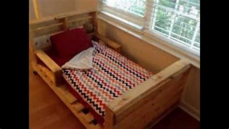 diy pallet trundle bed diy pallets beds