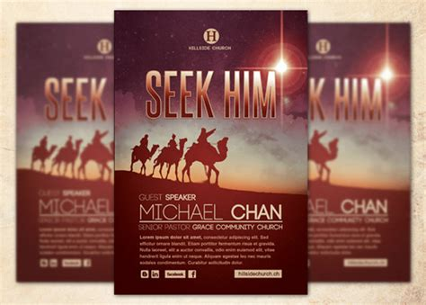 9 Best Images Of Sle Church Flyer Templates Pastor And Wife Anniversary Program Template Free Religious Flyer Templates