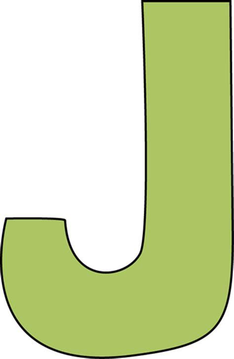 green letter j clip green letter j image
