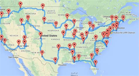 road maps route planner usa the ultimate road trip according to science the skeptics