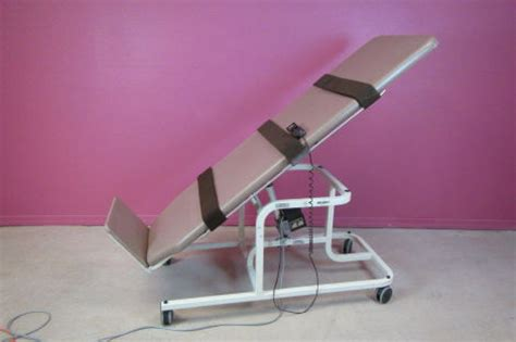 tilt table protocol for physical therapy used midland electric tilt bed standing to laying