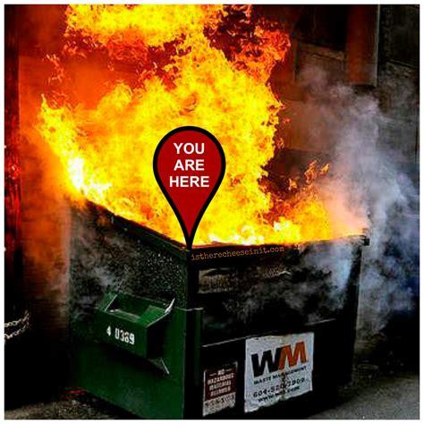 Dumpster Fire Meme - malik mcdowell entering 2017 draft mgoblog
