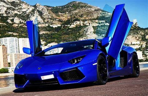 Pimped Lamborghini Aventador Lamborghini Aventador Lp700 Blue Car Out