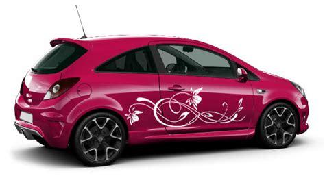 Blumen Aufkleber F Rs Auto by Romantik Aufkleber Autoaufkleber Ornamente Und Blumen