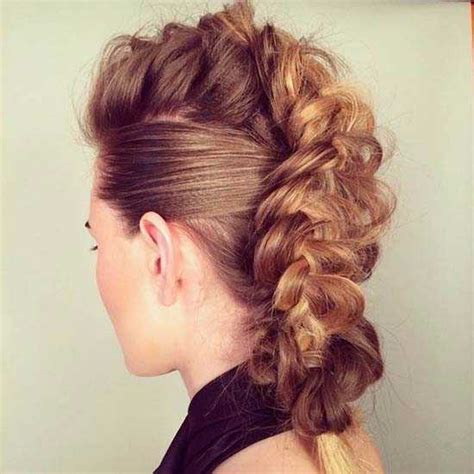 mohawk braid hairstyles for 2016 mohawk hairstyles 2016 for black women