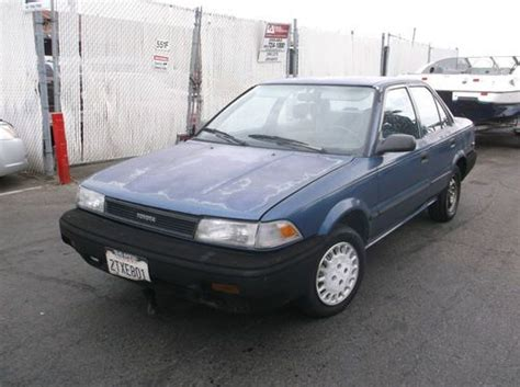 Toyota Corolla Sr5 1990 Find Used 1990 Toyota Corolla No Reserve In Orange