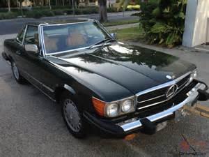 1986 Mercedes 560 Sl 1986 Mercedes 560sl 78k