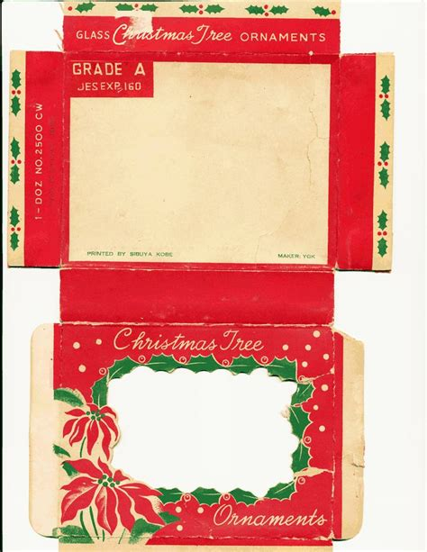 templates for xmas boxes christmas box template new calendar template site