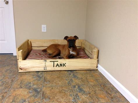 dog bed out of pallets dog bed made from pallets diy creations pinterest