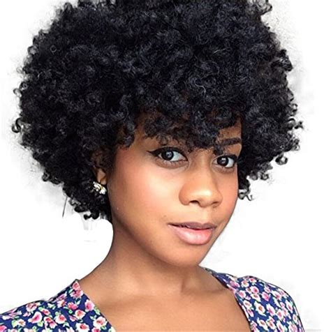 kinky hairpieces for black women cheap atozwig natural afro wig kinky curly wigs for black