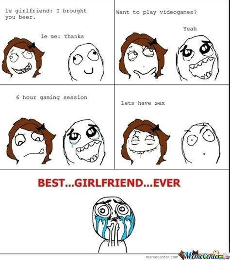 Best Girlfriend Ever Meme - best girlfriend eva by memecomics meme center