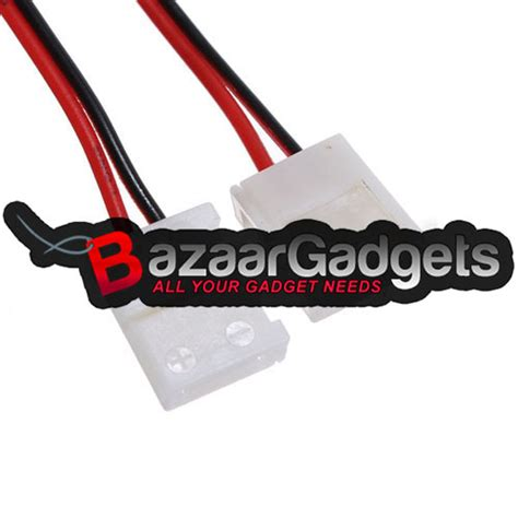 Pcb Konektor Connector Model L Led Single Colour 3528 2 Penjepit buy pcb connector adapter for 3528 single color led bazaargadgets