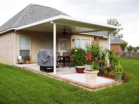 stylish aluminum patio covers outdoor decorations