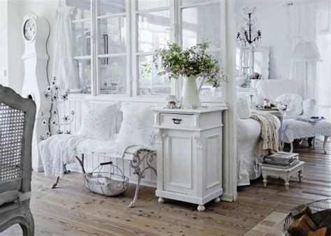 shabby chic interior with attention to details
