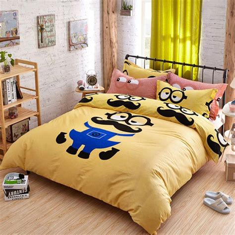 despicable me bed set 12 cute minion bedding sets you can buy right now home