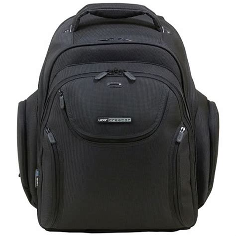 udg udg creator backpack no logo black vinyl at juno