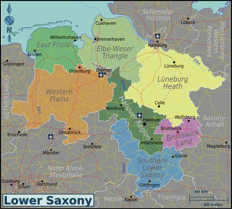 saxony germany map file lower saxony map png