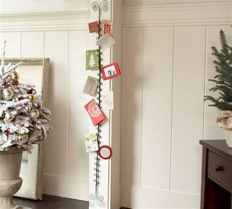 how to display christmas cards put your christmas cards on display pear tree blog