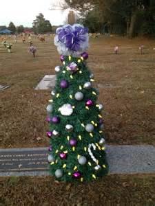 grave solar lights momas tree with solar lights headstone ideas