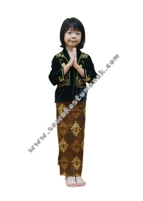 Baju Adat Jawa Bludru Anak Ce Pakaian Adat Jawa Kebaya Anak Sewa Kostum Anak