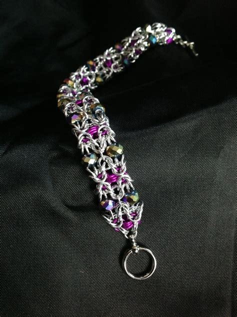chain mail plus jewelry projects using crystals charms more books 83 fantastiche immagini su chainmaille and su