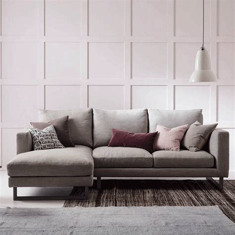 left corner chaise sofa chaise longue fabric loveseats with left or right arm
