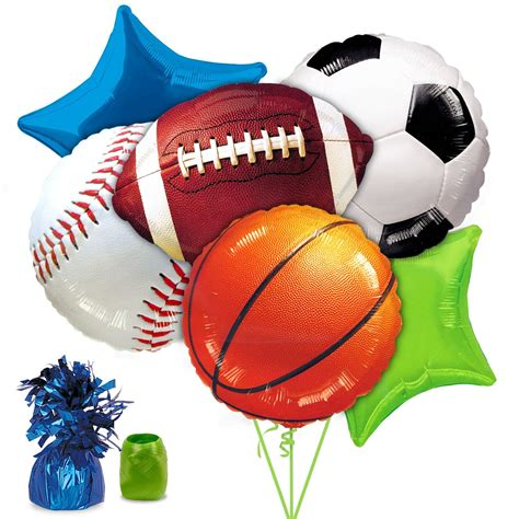 sports themed pictures sports party balloon kit wholesale party accessories and