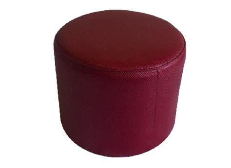 red round ottoman thelounge red round ottoman