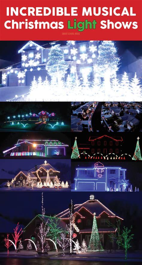 christmas music light show christmas light shows with music