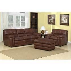 Sam S Club Furniture Living Room Set Wilson 3 Leather Sofa Set Sam S Club