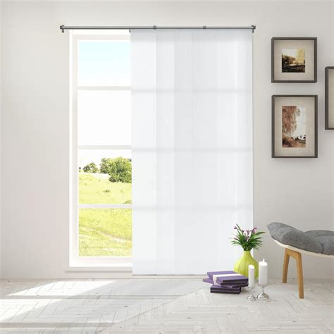 slider panel curtains chicology adjustable sliding panel cut to length