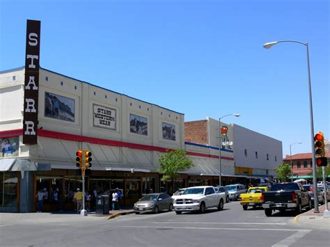 Paso A Paso by Panoramio Photo Of Starr Western Wear Downtown El Paso