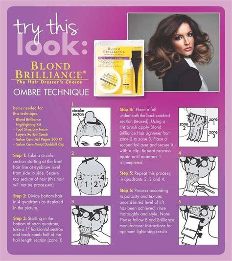 Blond Brilliance Ombre Kit Tutorial   blonde brilliance ombre kit tutorial hairstylegalleries com
