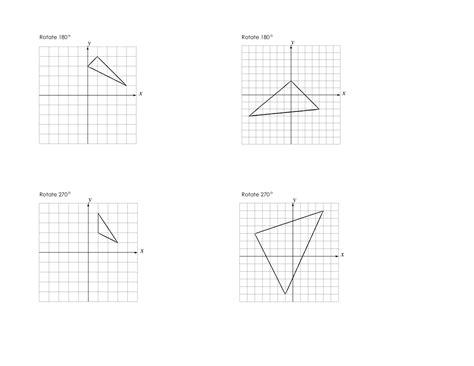 Rotations Worksheet 8th Grade by Maths Rotation Worksheets Year 6 Maths Describing