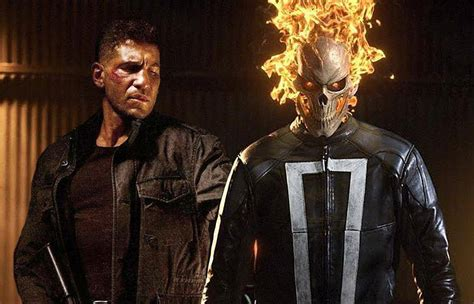 The Punisher Appeareance is jeph loeb teasing a punisher appearance on agents of s h i e l d heroic