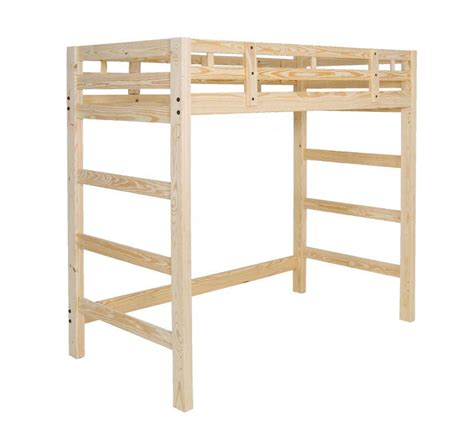 tall loft bed twin loft bed manhattan style tall