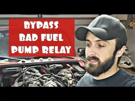 bypass bad fuel pump relay  ford ranger explorer