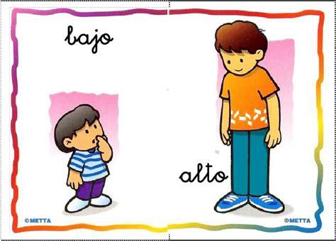 imagenes educativas opuestos conceptos opuestos conceptos b 193 sicos pinterest